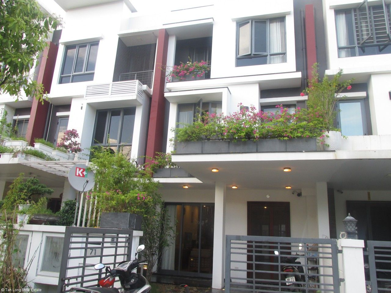 3 bedroom terraced house for rent in Gamuda Gardens, Hoang Mai, Hanoi